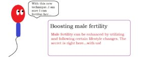 Boosting male fertility | male infertility treatment
