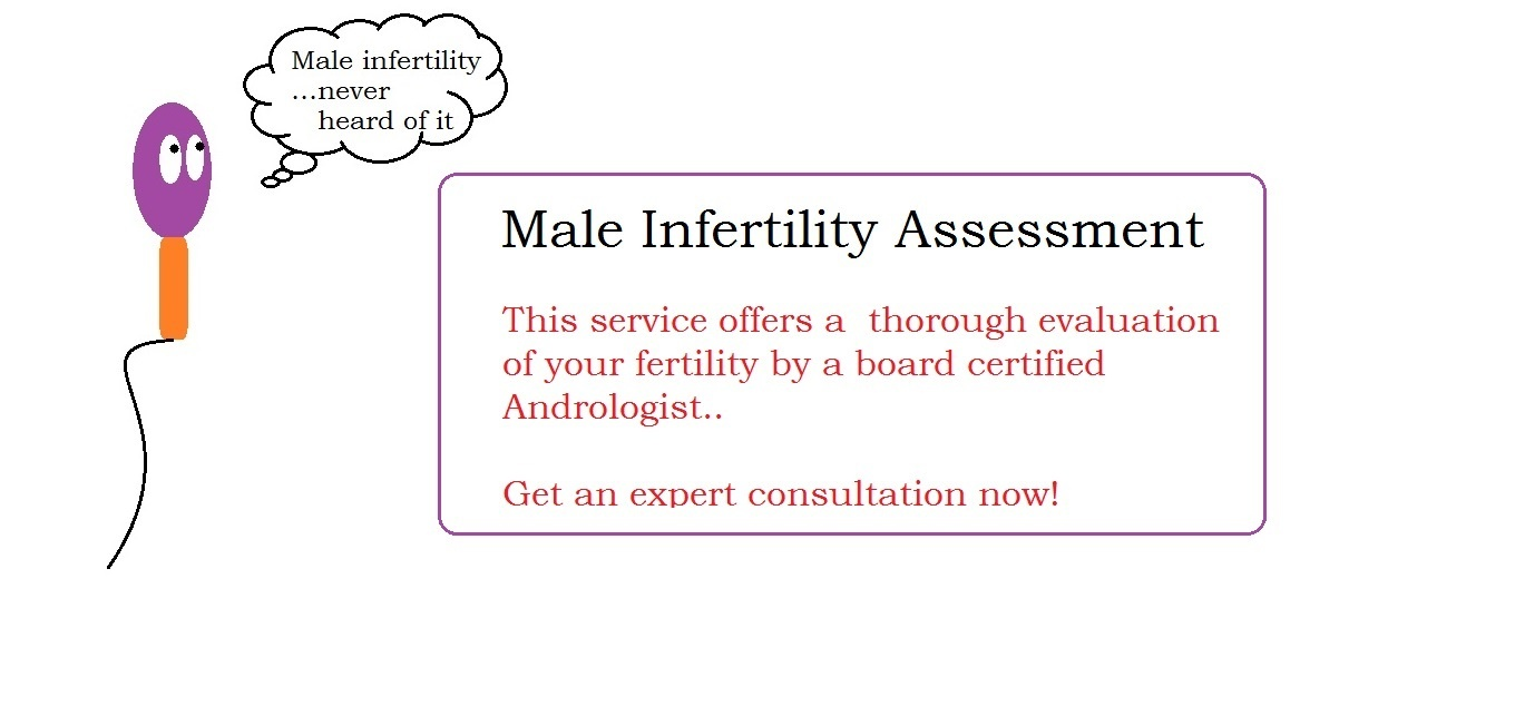 Male infertility treatment and Sexology services